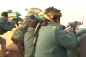 Peshmerga forces exchange fire with ISIS