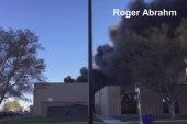 Video captures Wichita plane crash scene