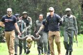 Vets help African park rangers catch poachers