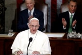 Pope addresses Congress in historic session