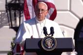 Pope Francis's first U.S. speech