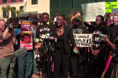 Residents rally against after SC shooting