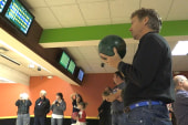 Rand Paul goes bowling