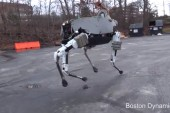 This robot can handle ice, hills - and kicks