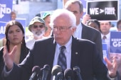Sanders demands more action on climate change