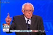 Sanders: Clinton 'too aggressive' on...