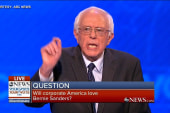 Sanders: Corporate America 'ain't going to...