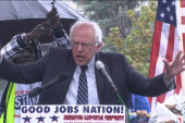Sanders at wage rally: 'Enough is enough!'