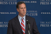 Santorum: 'I will secure the border with...