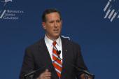 Santorum speaks at RJC Forum