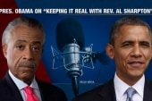 Obama talks voting and midterm with Rev. Al