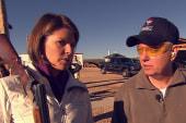 Lindsey Graham gives a trap shoot lesson
