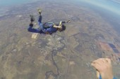 Man suffers seizure mid-skydive