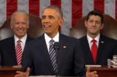 Obama Begins State of The Union With Joke