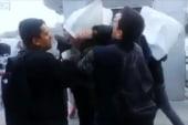 Turkish youth group attacks US Navy sailors