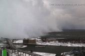 Timelapse: Snow wall crawls over Buffalo, NY