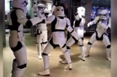 Twerking Stormtroopers break it down in NYC