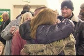 Welcome home: Troops return from Afghanistan