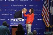 Trump: 'It's my hair, I swear!'
