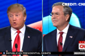 Bush, Trump exchange verbal jabs
