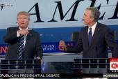 Bush confronts Trump about past political...