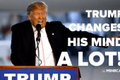 The many flip-flops of Donald Trump