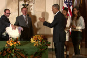 Pres. Obama pardons the National Turkey