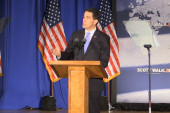 Walker dreams of an 'unintimidated' America