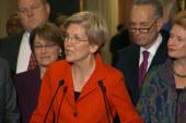 Elizabeth Warren ascends into leadership role