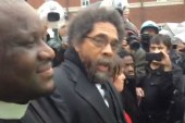 Cornel West and others arrested in Ferguson