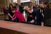 Prince William and Kate visit 9/11 memorial