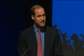 Prince William talks illegal wildlife trade