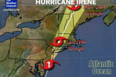 Weather Channel tracks Irene