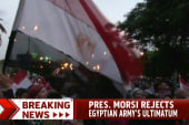 Egypt's Morsi says he won't step down