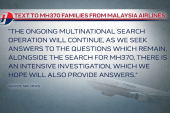 Malaysia Airlines will give families answers