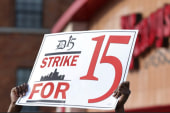 Fast food workers launch new protests
