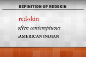The right side of history, the 'Redskins'