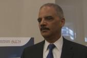 Eric Holder discusses resignation, next steps