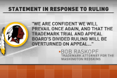 Pressure for Redskins name change continues