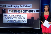 Detroit finds itself in in financial free...