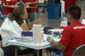 MSNBC sponsors another free health clinic...