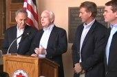 Senate group split on status of...
