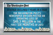 What does the sale of the Washington Post...