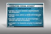 Pentagon's military sexual assault plan...