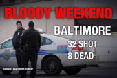 The deadliest month in Baltimore since 1999