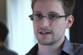 Edward Snowden on the move