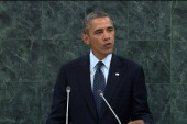 Obama, Rouhani address the UNGA