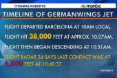 Germanwings jet did not transmit a...