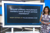 What's your pulse: Should military...