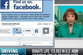 Donor signups soar thanks to Facebook...